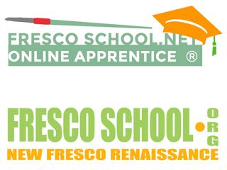 Fresco School and Fresco School OnLine Apprentice logos