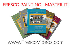 Fresco Painting Video Tutorials by a practicing fresco artist iLia Anossov