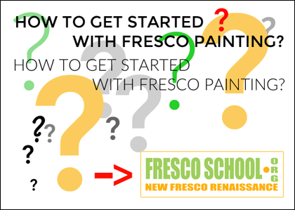 How to get started with fresco painting.