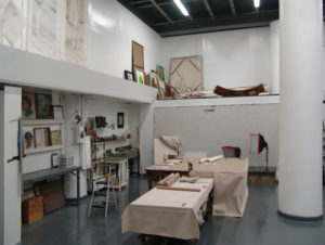 large fresco painting studio